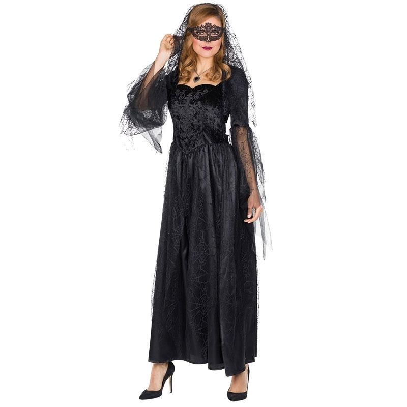 Kostüm Schwarze Braut 36