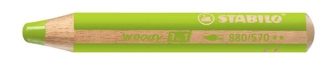 Stabilo Woody Farbstift hellgrün