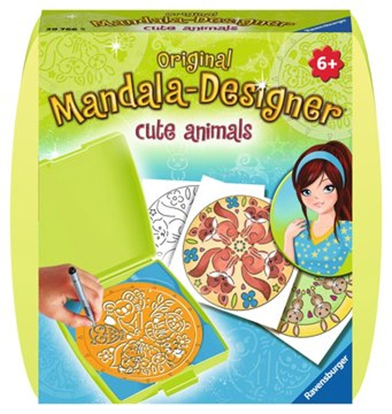 Ravensburger Mini Mandalas Designer Cute Animals