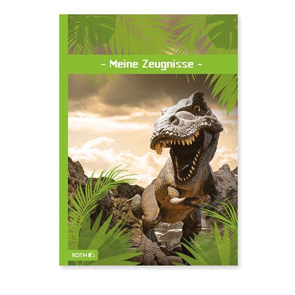 Roth Zeugnismappe Tyrannosarus
