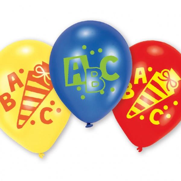 ABC Schulanfang Luftballons