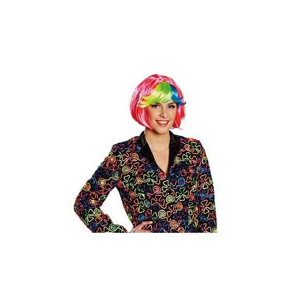Kostüm-Zubehör Perücke Lilou