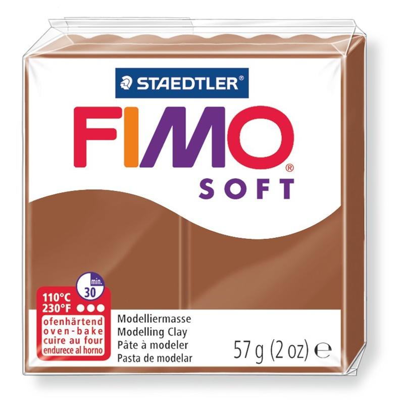 Staedtler Modelliermasse Fimo soft caramel 57 g