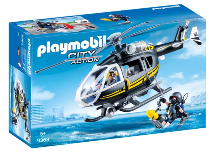 Playmobil 9363 City Action SEK-Helikopter