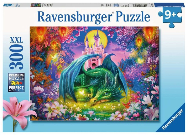 Ravensburger Puzzle Mystischer Drachenwald 300 Teile XXL