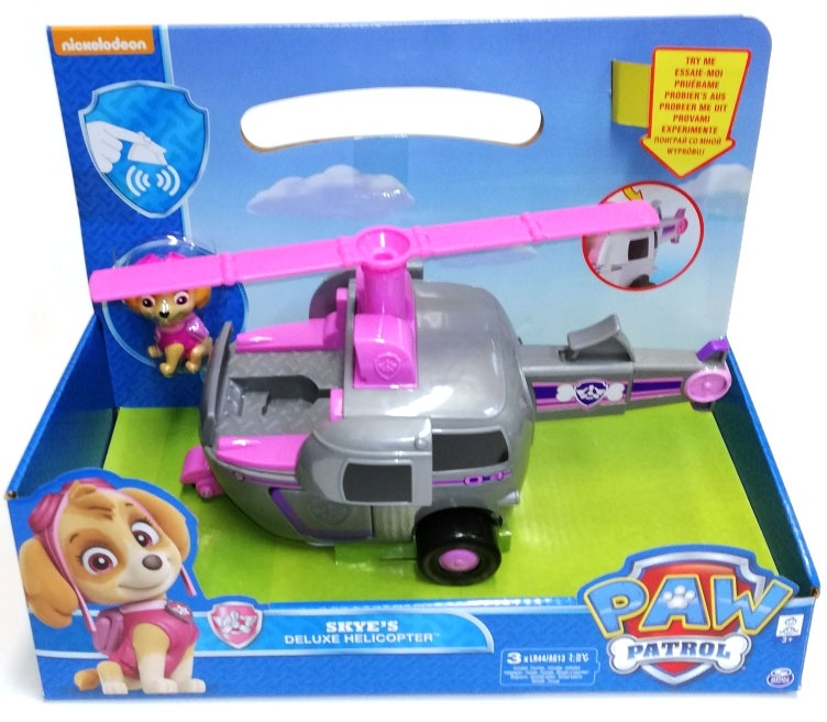 Paw Patrol Deluxe Feature Fahrzeug Skye Helicopter