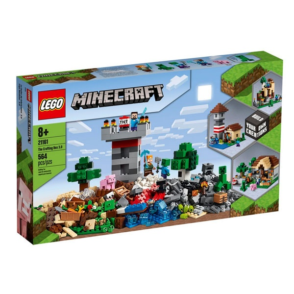 Lego Minecraft 21161 Die Crafting-Box 3.0