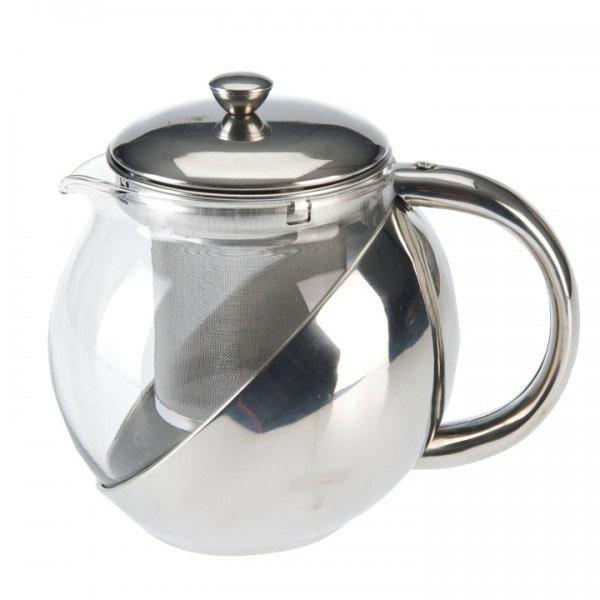 Teekanne 0,65 l mit Edelstahleinsatz