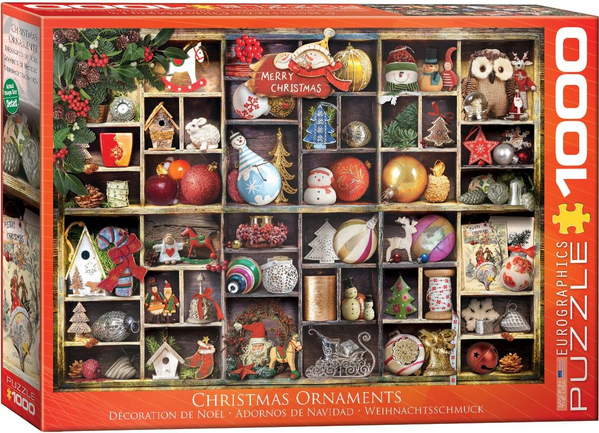 Puzzle Weihnachtsschmuck 1000 Teile