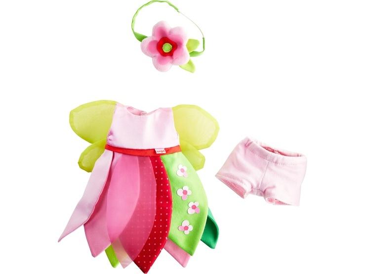 Haba Kleiderset Blumenfee Puppenkleidung 30 cm