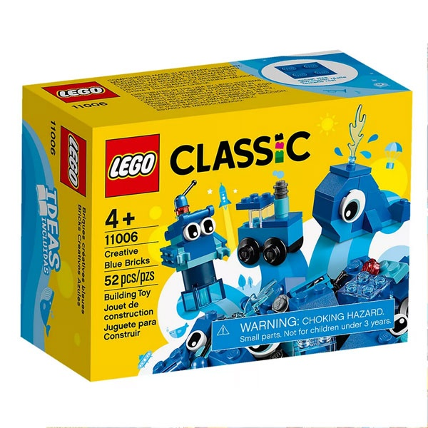 Lego Classic 11006 Blaues Kreativ-Set