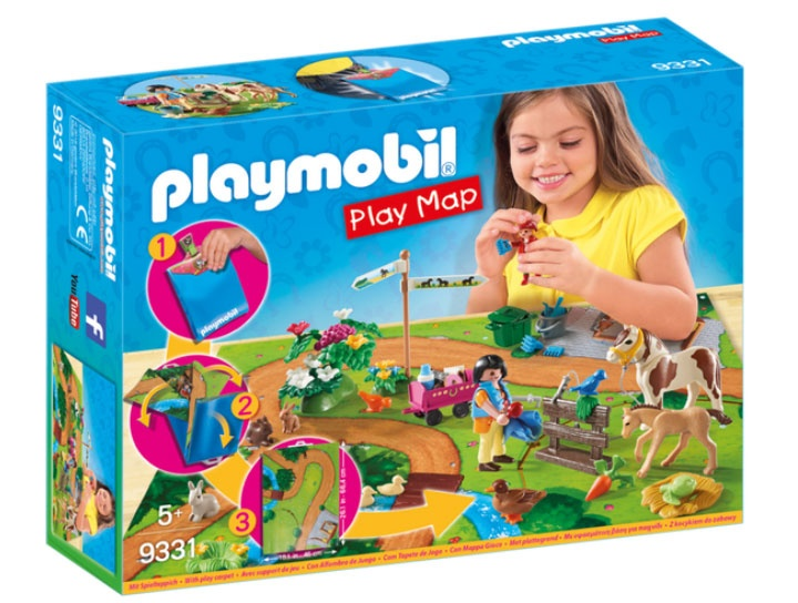 Playmobil 9331 Country Play Map Ponyausflug