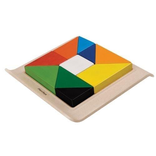 Formen-Puzzle Lernspiel aus Holz von Plantoys
