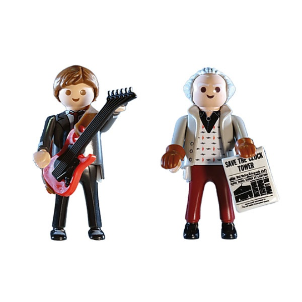 Playmobil 70459 Back to the Future Marty McFly und Dr. Emmet