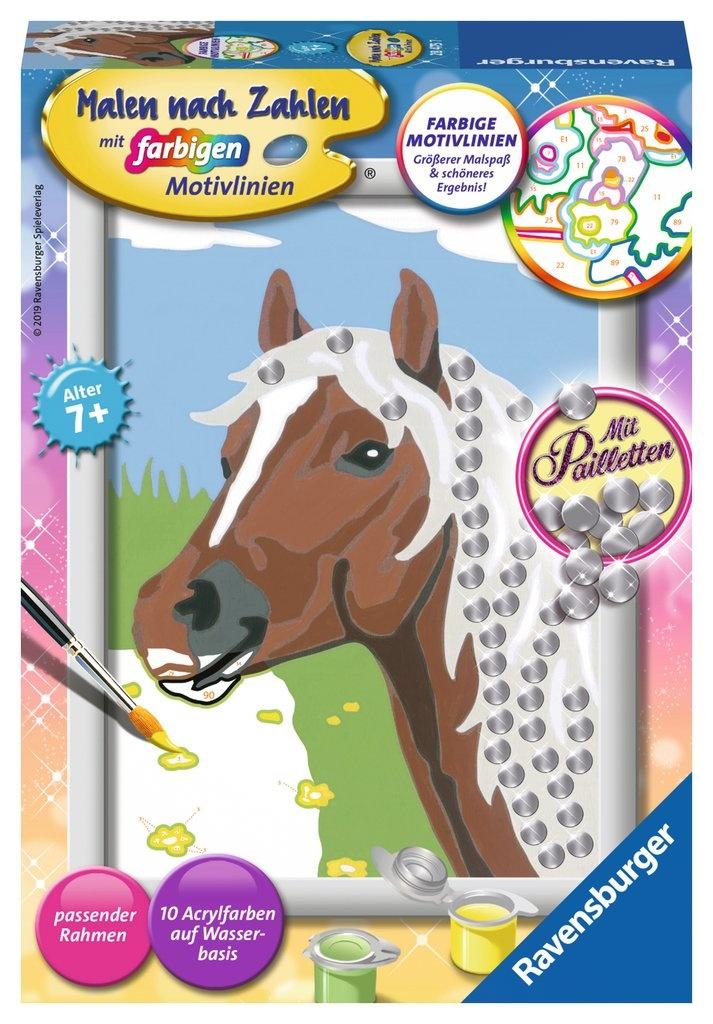 Ravensburger Malen nach Zahlen Pferd