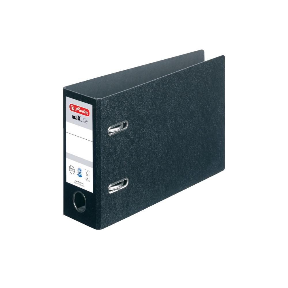 Herlitz max.file Ordner A5 quer 7,5cm