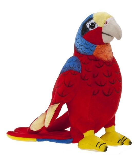 Softissimo Plüschtier Papagei 20cm