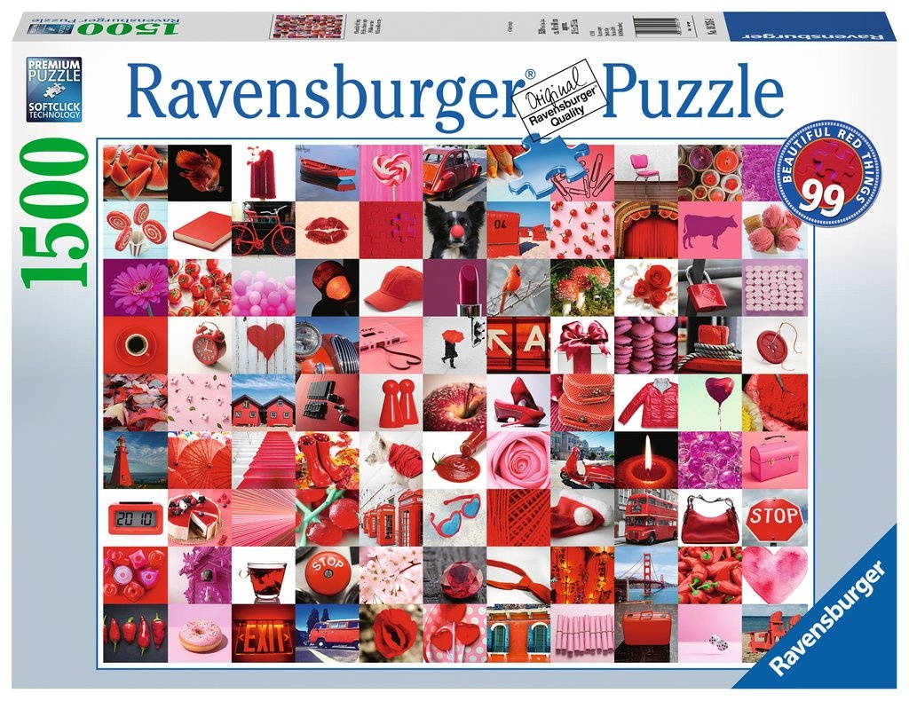 Ravensburger Puzzle 99 beautiful red things 1500 Teile
