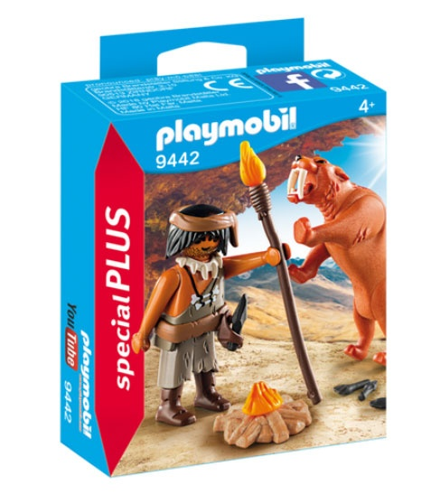 Playmobil 9442 specialPlus Neandertaler mit Säbelzahntiger