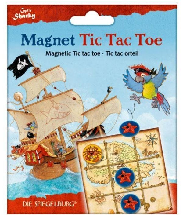 Captn Sharky Spiel Magnet Tic Tac Toe