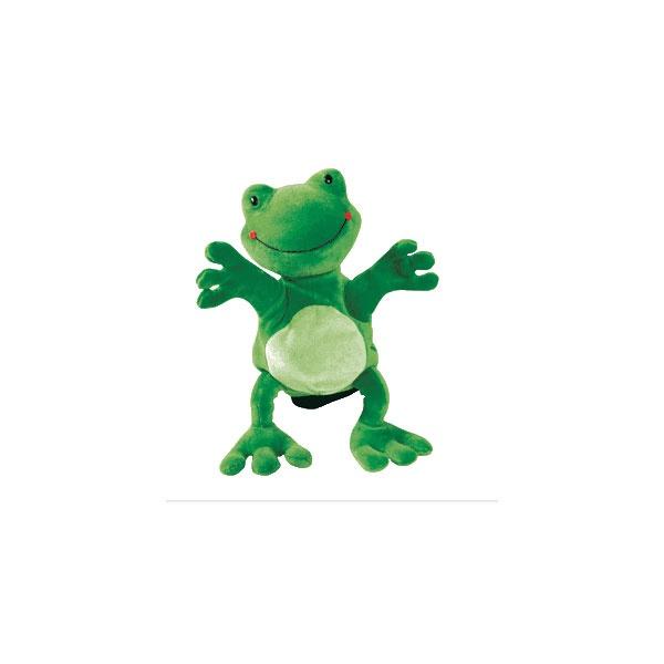 Handpuppe Frosch Frog