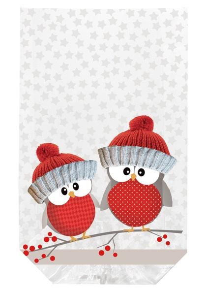 geschenk bodenbeutel weihnachten owl brothers eulen. Black Bedroom Furniture Sets. Home Design Ideas