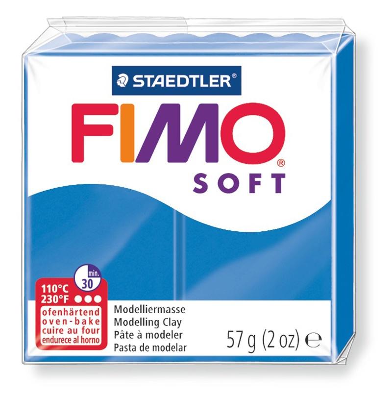 Staedtler Modelliermasse Fimo soft 57 g pazifikblau