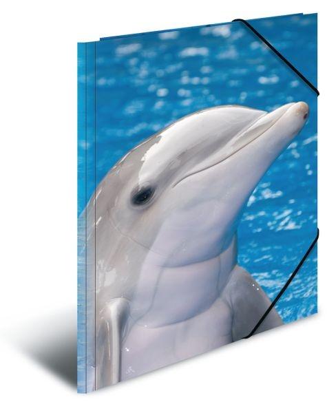 Herma Sammelmappe A3 Delfin