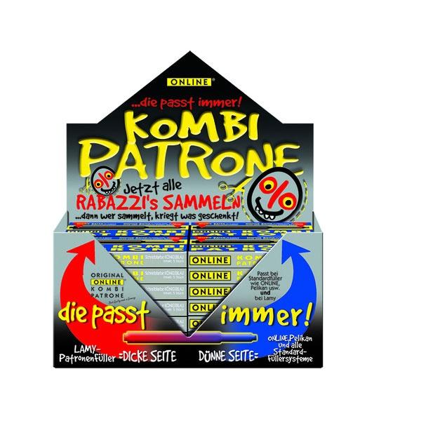 Original ONLINE Kombipatrone Blau