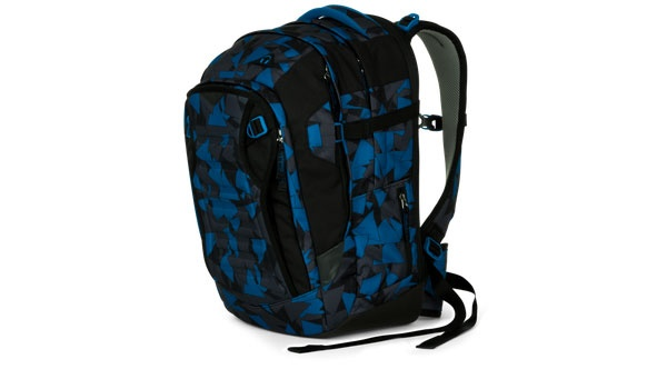 Ergobag Satch Match facelift Schulrucksack Blue Triangle
