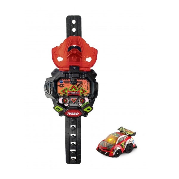 vtech Turbo Force Racers Race Car rot