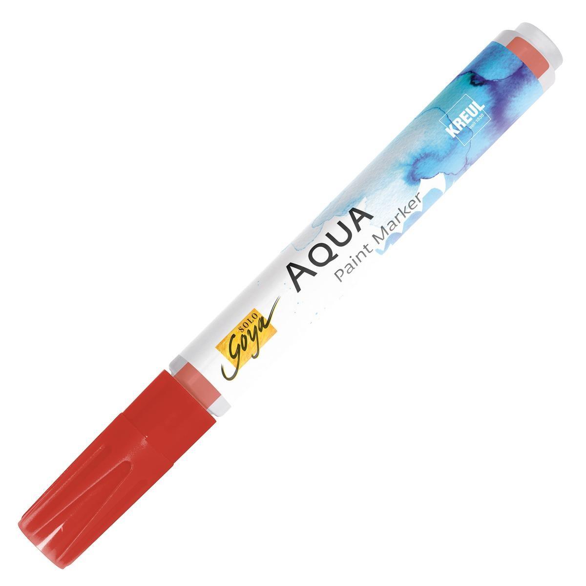 SOLO GOYA Aqua Paint Marker Zinnoberrot dunkel