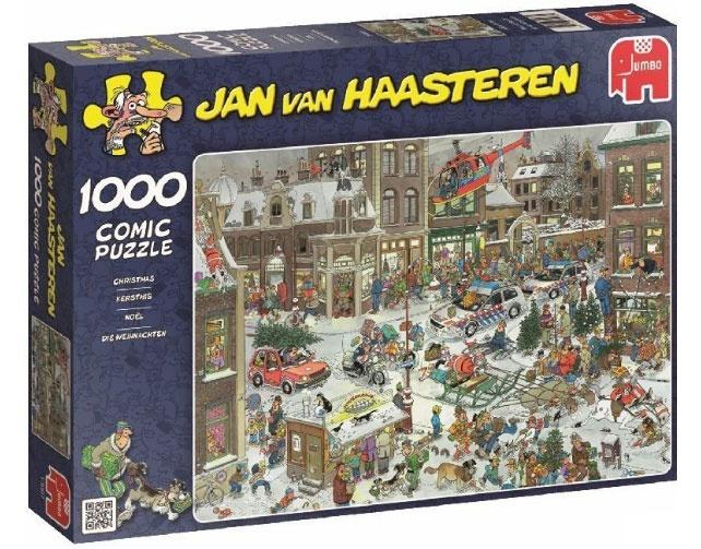 Jumbo Puzzle Jan van Haasteren Weihnachten 1000 Teile