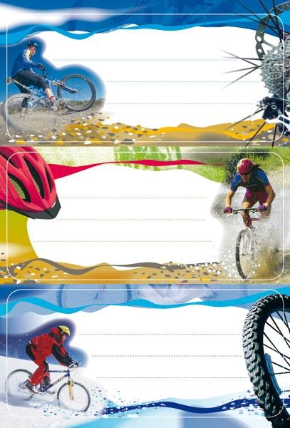 Herma Buch-Etiketten Mountainbike
