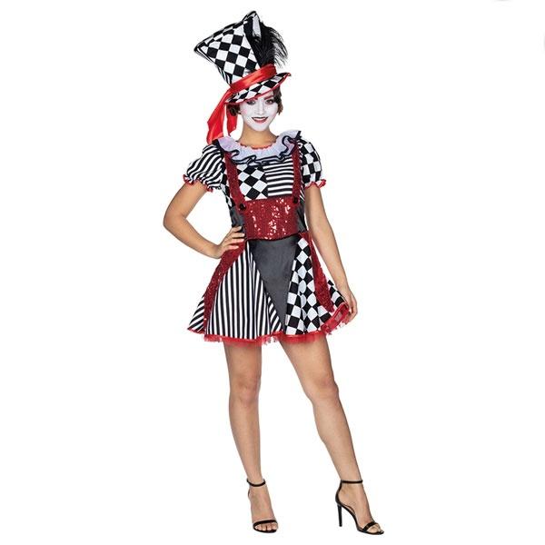 Kostüm Pierrot Harlekin 44 Erw.