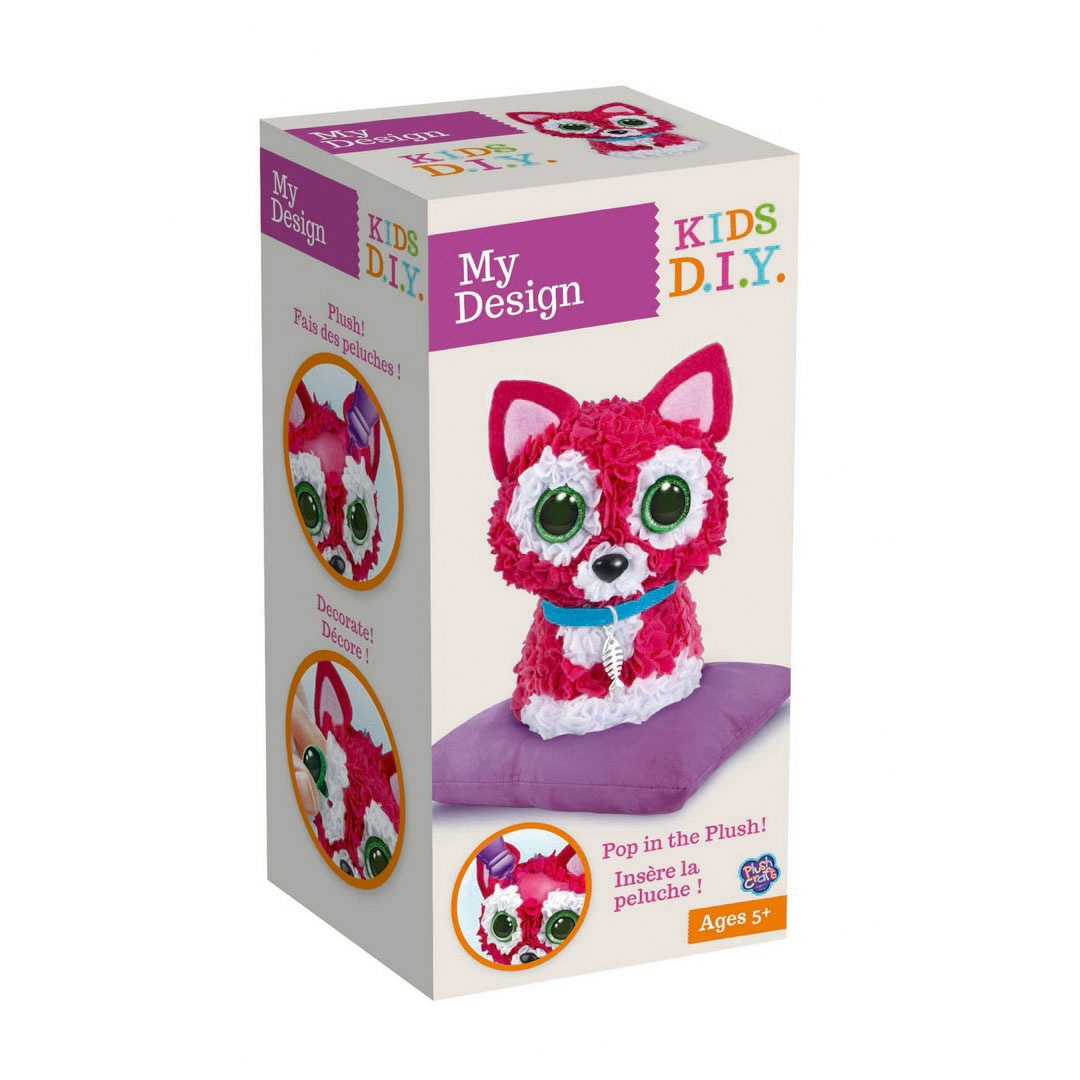 PlushCraft My Design 3D Cat Katze