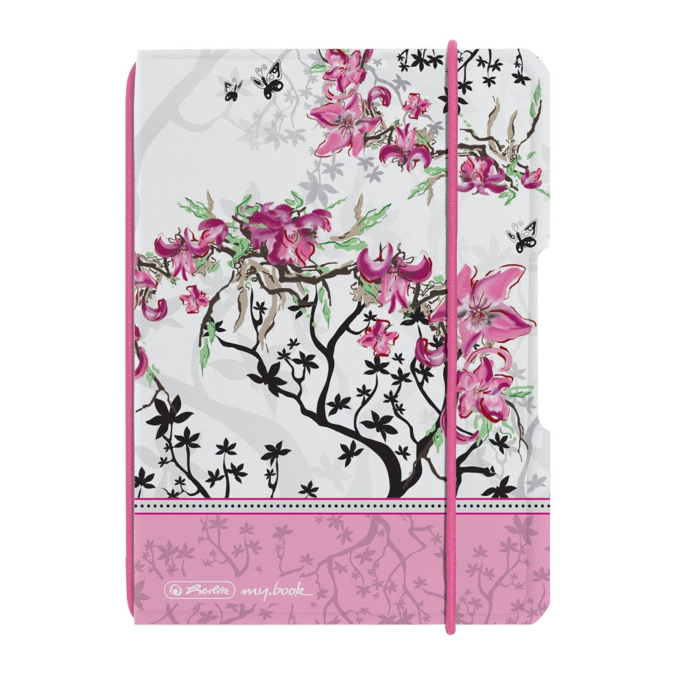 Herlitz Notizheft A6 flex PP Ladylike Bloom