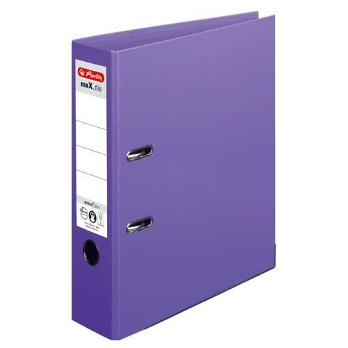 Ordner A4 max.file protect lila 8 cm von Herlitz