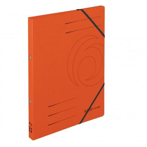 Ringhefter Colorspan-Karton A4 orange von Herlitz