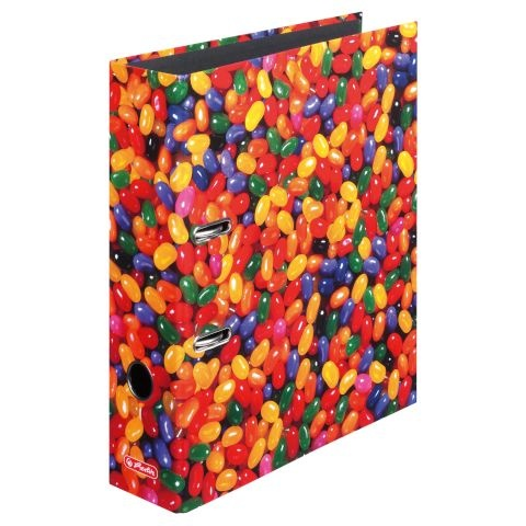 Herlitz Motivordner max.file A4 Jelly Beans
