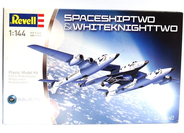Revell 04842 SpaceShipTwo 1:144