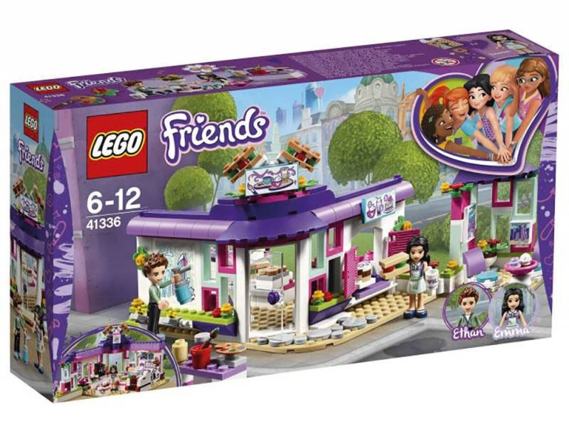 Lego Friends 41336 Emmas Künstlercafe