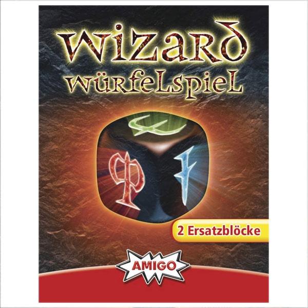 Wizard Würfelspiel Ersatzblöcke von Amigo