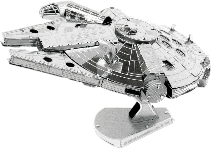 Bastelset Metal Earth Star Wars Millennium Falcon