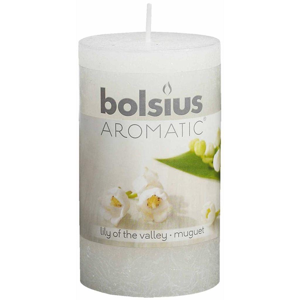 Bolsius Duft-Stumpenkerze Maiglöckchen