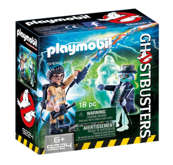 Playmobil 9224 Ghostbusters Spengler und Geist