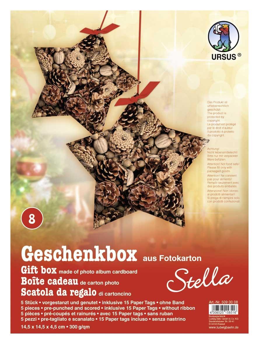 Bastelmappe Geschenkbox Stella Motiv 08