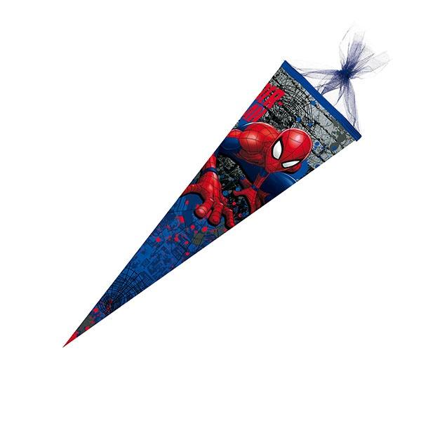Schultüte Spiderman 50cm Tüll