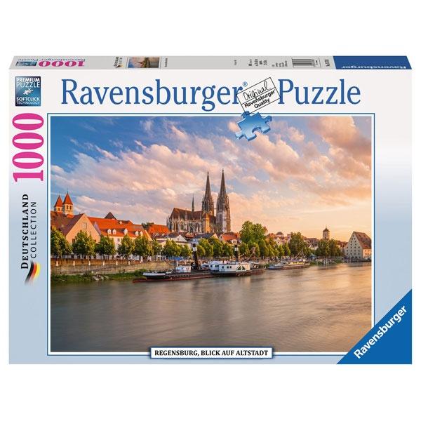 Ravensburger Puzzle Regensburg, Blick auf die Altstadt 1000T
