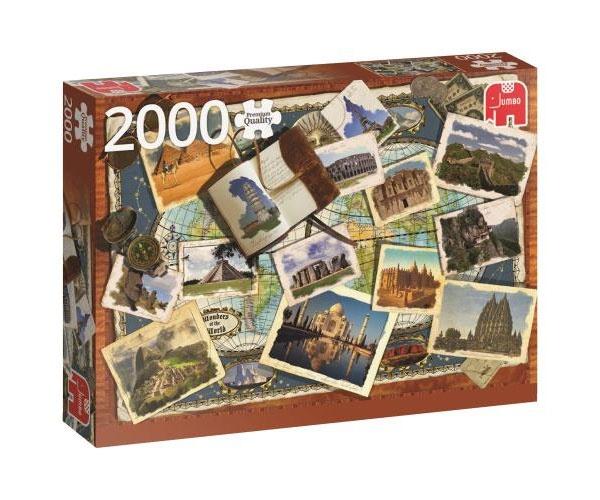 Puzzle Wunder der Welt 2000 Teile von Jumbo